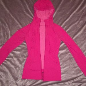 Lulu Lemon REVERSIBLE! Full zip jacket
